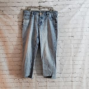 Gap Vintage High Rise Cropped Jeans. SZ 14